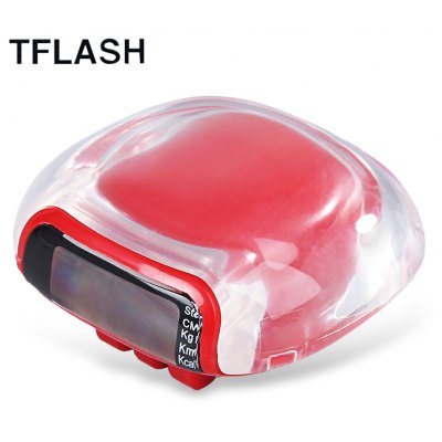 TFLASH Unisex Multifunctional Step Calorie Distance Pedometer