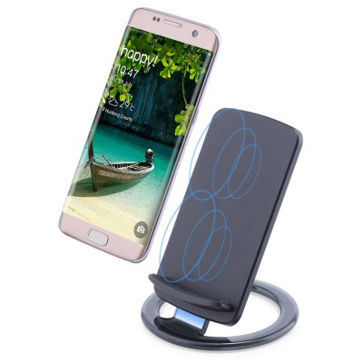 Movable Qi Wireless Charging Pad Stand Station