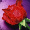 cheap 28 x 30cm 5D Dripping Rose Painting Cross Stitch Tool