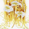 30 x 56cm 5D Golden Lily Painting Cross Stitch Tool deal