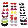 76pcs Colorful Photo Shooting Booth Props Decoration deal