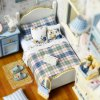 CUTEROOM H - 003 DIY Wooden Doll House Box Kit for sale