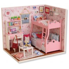 CUTEROOM H - 012 - A Wooden Doll House - Blossom Age