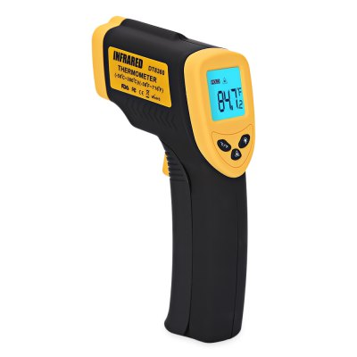 LCD Professional Non-contact Infrared Digital Industrial Object Thermometer