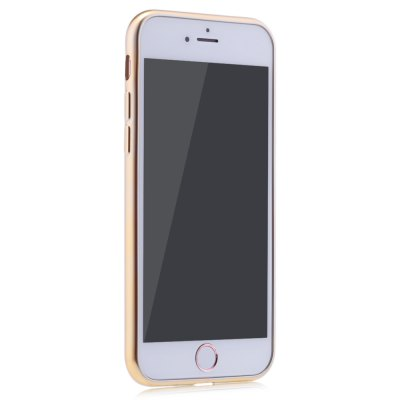 Frosted Electroplate Plating TPU Case for iPhone 7 4.7 inch