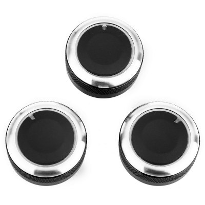 3PCS Car Conditioning Knob for Mazda AxelaOther Car Gadgets<br>3PCS Car Conditioning Knob for Mazda Axela<br><br>Product weight: 0.081 kg<br>Package weight: 0.114 kg<br>Package Size(L x W x H): 9.00 x 9.00 x 5.00 cm / 3.54 x 3.54 x 1.97 inches<br>Package Contents: 3 x Automobile Conditioning Knob