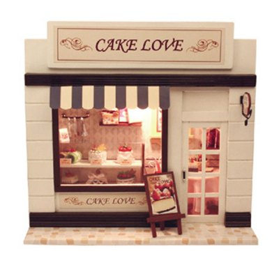 CUTEROOM C - 004 DIY Wooden House - Sweet Cake