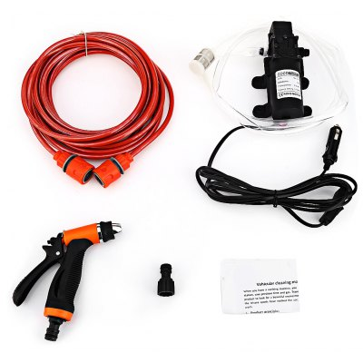 BOJIN 60W 12V High Pressure Car Washer