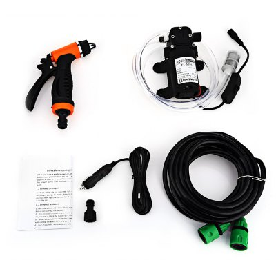 BOJIN 36W 12V High Pressure Cleaning Pump Car Washer