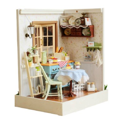 CUTEROOM F - 002 DIY Wooden Doll House - Pastoral Life