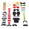 32pcs Colorful Photo Shooting Booth Props Decoration