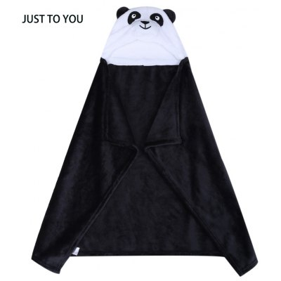 JUST TO YOU Animal Cartoon Cloak Hold Blanket Swaddling