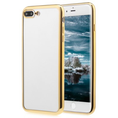 Soft TPU Electroplate Plating Case for iPhone 7 Plus 5.5 inch