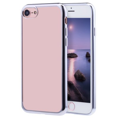 Soft TPU Electroplate Plating Case for iPhone 7 4.7 inch