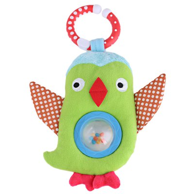 Baby Cute Bird Bed Bells Rattle Toy