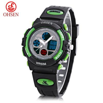 OHSEN AD1502 Dual Movt Watch