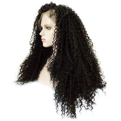 Glueless Full Lace Front Kinky Curly Wigs