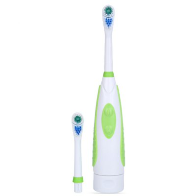 Magic Rotary Electric Toothbrush with Double Brush Head