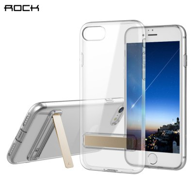 ROCK Ultra Thin TPU Slim with Kickstand Back Cover for iPhone 7 Plus