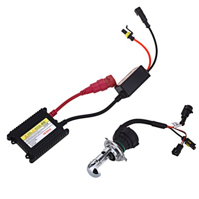 55W 6000K Universal Car Xenon Headlight DC230 Ballast KitCar Headlights<br>55W 6000K Universal Car Xenon Headlight DC230 Ballast Kit<br><br>Lens: Included<br>Light Source: Xenon<br>Product weight: 0.633 kg<br>Package weight: 0.808 kg<br>Package Size(L x W x H): 21.50 x 17.50 x 7.00 cm / 8.46 x 6.89 x 2.76 inches<br>Package Contents: 2 x Car Headlight, 2 x Ballast, 2 x Metallic Holder, 3 x Screw, 3 x Turncap, 1 x English User Manual, 1 x Wiring Harness Controller