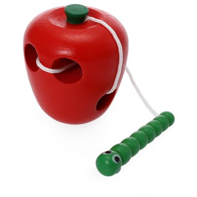 Worm Eat Apple Wooden Toys Early Learning Toys