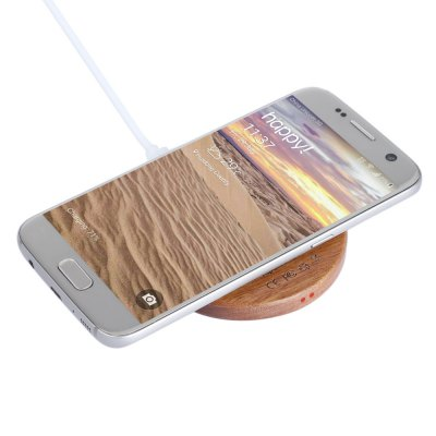 Wooden Qi Wireless Charger for Qi-enabled Devices