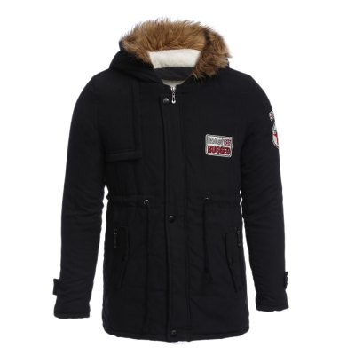 Men Hooded Coat