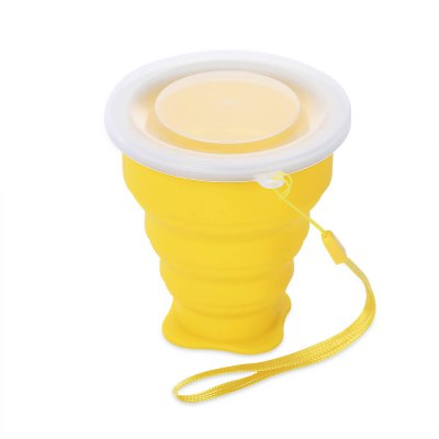 Camping Mountaineering Hiking Picnic Collapsible Folding Cup