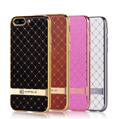 CAFELE Hourglass Pattern Back Cover for iPhone 7 Plus 5.5 inchiPhone Cases/Covers<br>CAFELE Hourglass Pattern Back Cover for iPhone 7 Plus 5.5 inch<br><br>Function: Anti-knock,Dirt-resistant<br>Type: Case<br>Product weight: 0.100 kg<br>Package weight: 0.140 kg<br>Package Size(L x W x H): 18.00 x 10.00 x 5.00 cm / 7.09 x 3.94 x 1.97 inches<br>Package Contents: 1 x Case