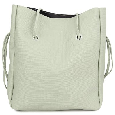 Trendy Pure Color Multifunctional Strap Women Bucket BagWomens Bags<br>Trendy Pure Color Multifunctional Strap Women Bucket Bag<br><br>Handbag Type: Bucket Bag<br>Style: Fashion<br>Gender: For Women<br>Pattern Type: Solid<br>Closure Type: String<br>Internal Material: Polyester<br>External Material: PU<br>Size(CM)(L*W*H): 37.00 x 6.50 x 36.00 cm / 14.57 x 2.56 x 14.17 inches<br>Product weight: 0.465 kg<br>Package weight: 0.486 kg<br>Package size (L x W x H): 37.50 x 7.00 x 26.50 cm / 14.76 x 2.76 x 10.43 inches<br>Package Contents: 1 x Bag