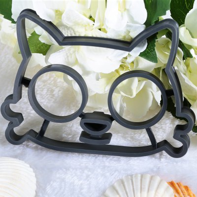 Funny Cat Shape Silicone Breakfast Egg Frying Mould