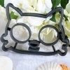 Funny Cat Shape Silicone Breakfast Egg Frying Mould photo