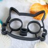 best Funny Cat Shape Silicone Breakfast Egg Frying Mould
