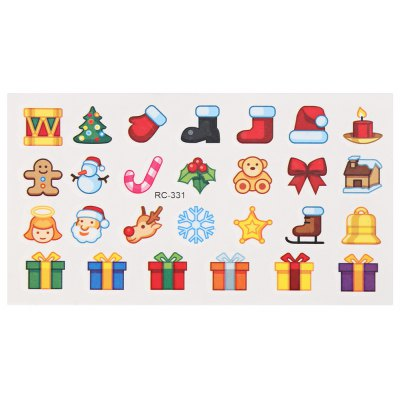Waterproof Temporary Lovely Tattoo Stickers Little Element for Christmas Presents Body Art Makeup