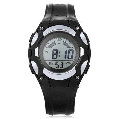 MINGRUI 8528019 Kids LED Digital WatchKids Watches<br>MINGRUI 8528019 Kids LED Digital Watch<br><br>Band Length: 7.64 inch<br>Band Material Type: Plastic<br>Band Width: 18mm<br>Case material: Plastic<br>Case Shape: Round<br>Clasp type: Pin Buckle<br>Dial Diameter: 1.42 inch<br>Dial Display: Digital<br>Dial Window Material Type: Plastic<br>Feature: Alarm,Auto Date,Back Light,Chronograph,Date,Day,Led Display,Luminous<br>Gender: Children<br>Movement: Digital<br>Style: Sport<br>Water Resistance Depth: 30m<br>Product weight: 0.029 kg<br>Package weight: 0.101 kg<br>Product Size(L x W x H): 23.00 x 3.60 x 1.40 cm / 9.06 x 1.42 x 0.55 inches<br>Package Size(L x W x H): 7.50 x 7.50 x 7.50 cm / 2.95 x 2.95 x 2.95 inches<br>Package Contents: 1 x MINGRUI 8528019 Kids LED Digital Watch