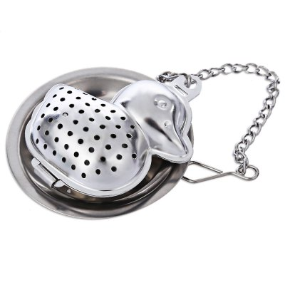 Stainless Steel Duck Shape Tea Strainer Filter