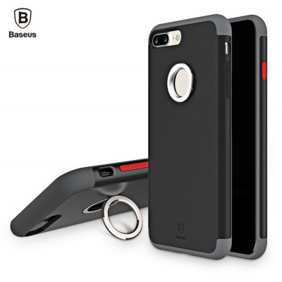 Baseus WIAPIPH7 - CH01 Magnetic Ring Back Case for iPhone 7