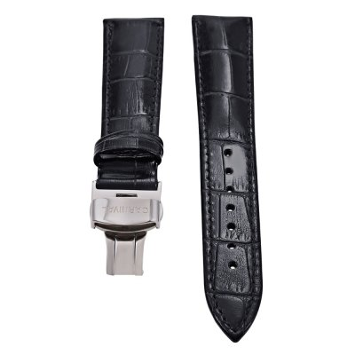 CARNIVAL 18MM Genuine Leather Watch Band