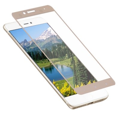 2.5D Tempered Glass Shatterproof Full Screen Silk screen Protective Film for Xiaomi 5S Plus 0.2mm