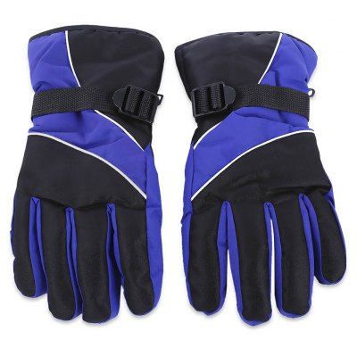 Paired Unisex Warm Protection Water Resistant Skiing Gloves