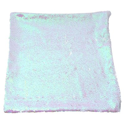 40 x 40cm DIY Two Tone Glitter Sequins Pillow Cushion Cover