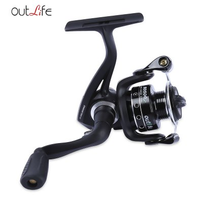 outlife BD500 / 650 5.2:1 5 + 1 Ball Bearings Spool Spinning Fishing Reel