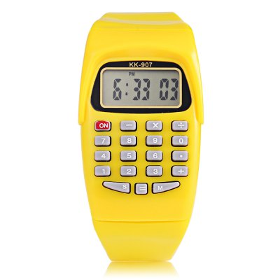 KK - 907 Children Digital WatchKids Watches<br>KK - 907 Children Digital Watch<br><br>Band Length: 8.15 inch<br>Band Material Type: Plastic<br>Band Width: 18mm<br>Case material: Plastic<br>Case Shape: Rectangle<br>Clasp type: Pin Buckle<br>Dial Diameter: 1.3 inch<br>Dial Display: Digital<br>Dial Window Material Type: Plastic<br>Feature: Back Light,Chronograph,Date,Led Display,Luminous<br>Gender: Children<br>Movement: Digital<br>Style: Sport<br>Product weight: 0.019 kg<br>Package weight: 0.040 kg<br>Product Size(L x W x H): 24.00 x 3.30 x 1.00 cm / 9.45 x 1.3 x 0.39 inches<br>Package Size(L x W x H): 25.00 x 4.30 x 2.00 cm / 9.84 x 1.69 x 0.79 inches<br>Package Contents: 1 x KK - 907 Children Digital Watch
