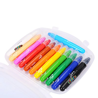 Maped Melted Water Crayon with 12 ColorsSchool Supplies<br>Maped Melted Water Crayon with 12 Colors<br><br>Brand: Maped<br>Package weight: 0.318 kg<br>Product Size(L x W x H): 13.00 x 1.60 x 1.60 cm / 5.12 x 0.63 x 0.63 inches<br>Package Size(L x W x H): 20.00 x 18.00 x 2.00 cm / 7.87 x 7.09 x 0.79 inches<br>Package Contents: 12 x Crayon