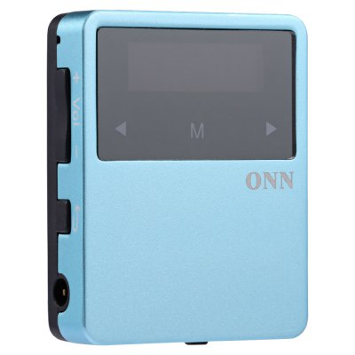 ONN X1 Pocket Bluetooth 4.2 Music Player MP3