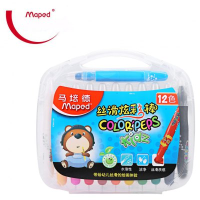 Maped Melted Water Crayon with 12 Colors