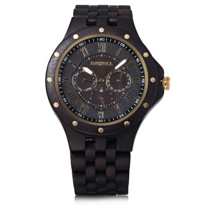 BEWELL ZS - W116C Men Wooden Quartz WatchMens Watches<br>BEWELL ZS - W116C Men Wooden Quartz Watch<br><br>Band Length: 8.66 inch<br>Band Material Type: Wooden<br>Band Width: 22mm<br>Case material: Wooden<br>Case Shape: Round<br>Clasp type: Sheet Folding Clasp<br>Dial Diameter: 1.97 inch<br>Dial Display: Analog<br>Dial Window Material Type: Glass<br>Gender: Men<br>Movement: Quartz<br>Style: Business<br>Product weight: 0.079 kg<br>Package weight: 0.157 kg<br>Product Size(L x W x H): 22.00 x 5.20 x 1.30 cm / 8.66 x 2.05 x 0.51 inches<br>Package Size(L x W x H): 7.00 x 7.00 x 7.00 cm / 2.76 x 2.76 x 2.76 inches<br>Package Contents: 1 x BEWELL ZS - W116C Men Quartz Watch, 1 x Box