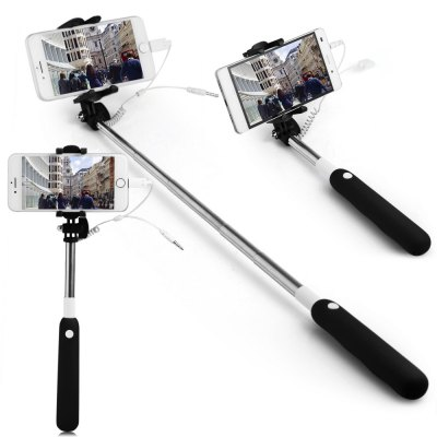 jack 8 pin selfie stick wire control camera shutter online shopping. Black Bedroom Furniture Sets. Home Design Ideas