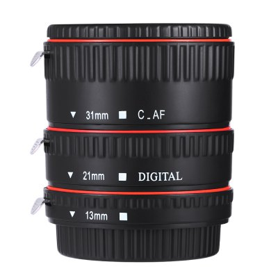 WEIHE Auto Focus Macro Plastic Extension Tube