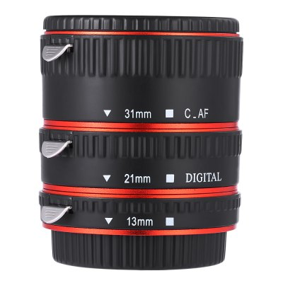 WEIHE Auto Focus Macro Metal Extension Tube